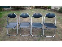 4 x ANZ Folding chairs