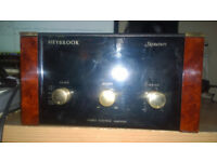 Heybrook Signature series 2 pre-power amplifiers