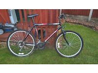 Pushbike for sale, almost unused. Please see pictures. Wheel size 59cm.