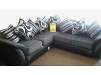 Jasmin corner sofa brand new