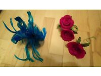 Fasinator SOLD and hair pieces
