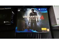 Brand new sealed playstation 4. Slim 500gb with unchartered 4