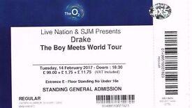 Drake o2 arena tickets