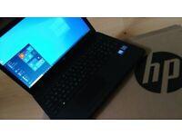 "AS NEW, WARRANTY fast 15.6"" Full-HD laptop HP Quad-core 8GB RAM 256GB SSD Windows 10 MS Office"