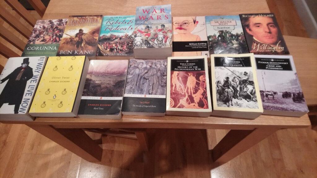 14 Various Paperbacks