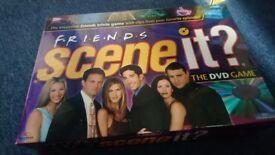 Friends board game scene it