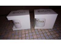 Rum Chata mugs x2