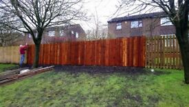 we specialise in garden fencing.we also replace panels.all types.