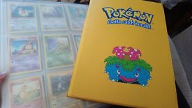 2 folders of pokemon cards