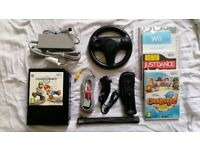 Nintendo Wii Bundle with Black Console (best selling model)