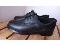 Black men's work shoes size 11
