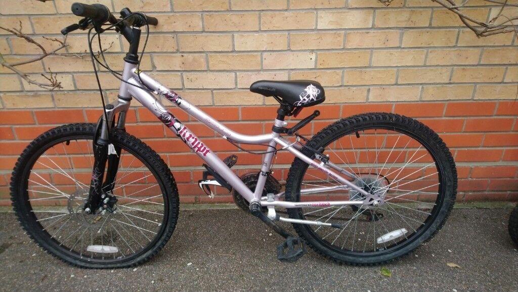 Apollo Krypt 18spd girls bike 24 inch wheels | in Beccles, Suffolk | Gumtree