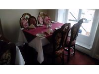 RESTAURANT CATERING EQUIPMENT, TABLES, CHAIRS, CANDLES (RESTAURANT SALE SO ALL STOCK MUST GO)