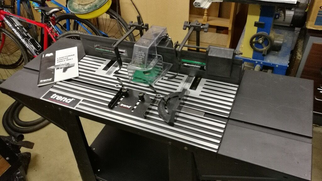 Trend Craftsman Router Table Crt Mk2 For Sale In