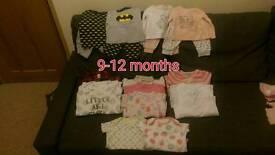 Girls 9-12 month bundle