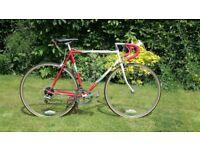 Apollo Equipe Vintage Steel Road bike New Brakes New Tyres