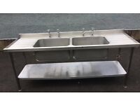 Commercial double Sink £200 good condition