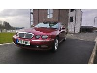 ROVER 75 CLUB SE T 4DR SALOON PETROL RED 03 PLATE