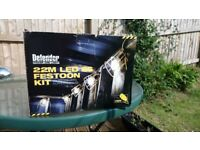 BRAND NEW IN BOX DEFENDER 22M LED FESTOON LIGHTING KIT