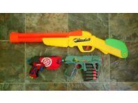 Nerf like guns