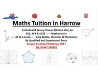 Qualified & Experienced Maths Tutor-AS/A Level, GCSE, KS3 and KS2 in Harrow