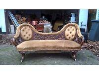 Vintage Sofa/ Chair