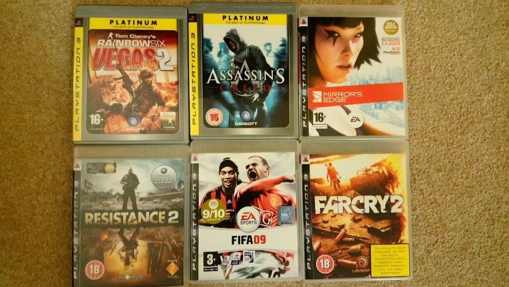 Playstation 3 games x6