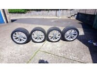 BMW X5 MSPORT WHEEL AND TYRES