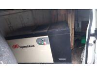 Ingersoll ran 3 phase air compressor