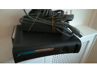 XBOX 360 Black - Controller & all leads