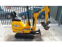 JCB 8008 CTS MICRO MINI DIGGER,ONLY 400 HOURS,2014,TER CERTIFICATE,NO VAT