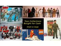 VINTAGE TOYS / ACTION FIGURES WANTED -INC 70'S 80'S 90'S HE-MAN , STAR WARS, Palitoy ,ACTION MAN ETC