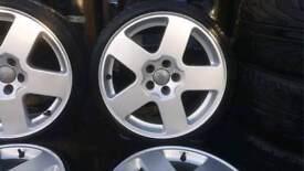Vw alloys, new lowprofle tyes