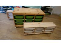 Ikea Trofast Childrens Toy Storage Units