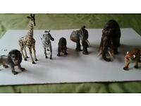 Detailed Jungle and pre-historic models for children.