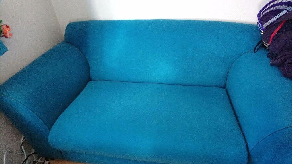 2 seated sofa , rarely used