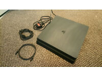 Selling my ps 4 500gb great condtion comes with 4 games