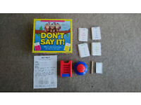 Don't Say It Board Game
