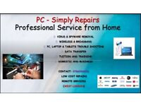 PC Simply Repairs West london and around the ub4 area