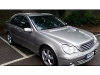 Mercedes c220 diesel avantgarde 2005 year