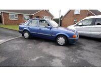 1990 ford escort mk4 1.3 eclipse rare wee car