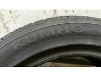 2 used Kumho tyres for sale