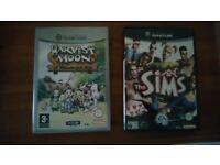 Games cube games - Harvest moon its a wonderful life and the sims