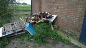 Free wood, old pallets etc