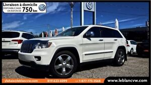 2012 Jeep Grand Cherokee Overland NAV+CUIR+TOIT PANO ET PLUS