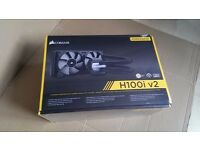 Corsair H100 H100i V2 All in One Water Cooler BRAND NEW SEALED! RRP £115 BARGAIN!!!!!!!!!!