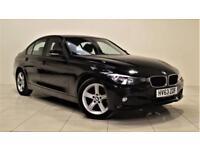 BMW 3 SERIES 2.0 320D SE 4d AUTO 182 BHP 1 PREV OWNER + SERVICE (black) 2013