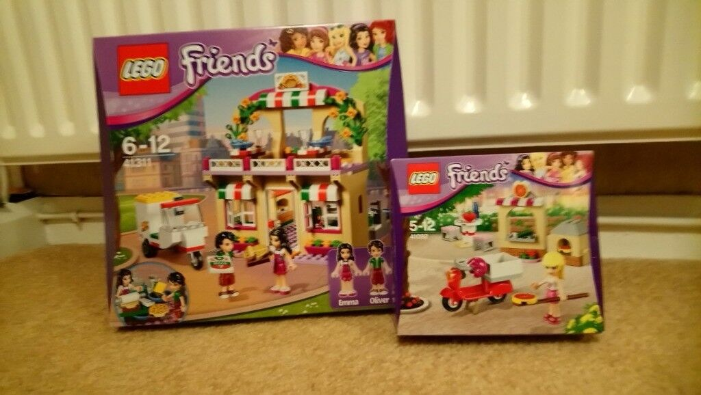 Lego Friends Heartlake Pizzeria And Stephanies Pizzeria