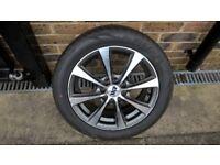 2 New alloy wheels & Firenza 195/50/15 tyres. 100 & 108 PCD