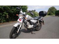 Yamaha 125cc Custom 2009 Learner Legal bike